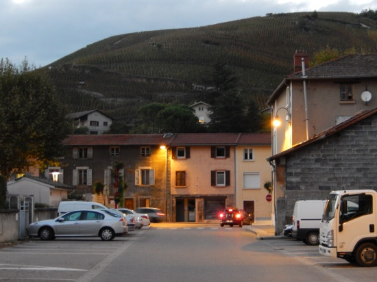 The village of Ampuis